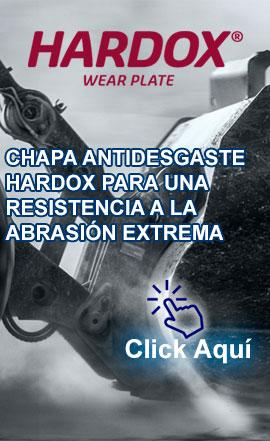 HARDOX: Acero Antidesgaste